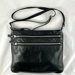 Margot Triple Zip Crossbody/Shoulder Bag